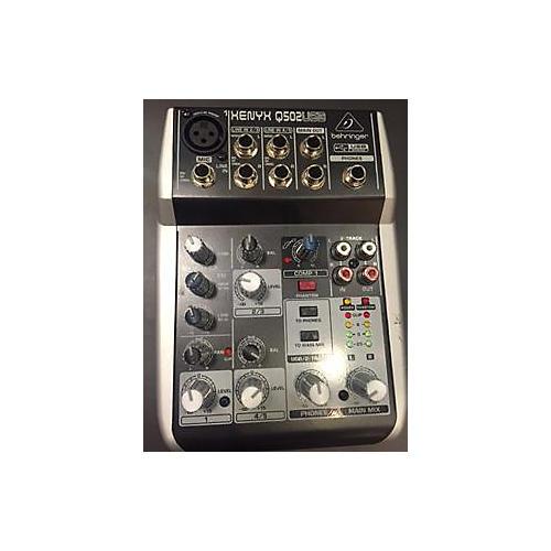 Behringer Xenyx Q502USB Unpowered Mixer-thumbnail