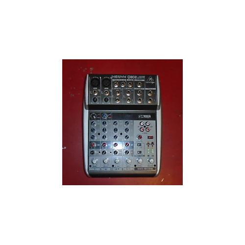 Behringer Xenyx Q802USB Unpowered Mixer-thumbnail