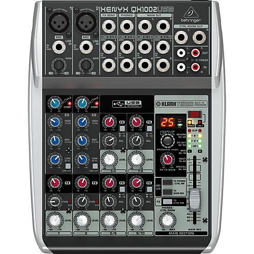 Behringer Xenyx QX1002USB Mixer-thumbnail