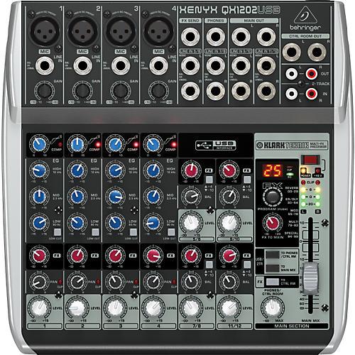 Behringer Xenyx QX1202USB Mixer-thumbnail