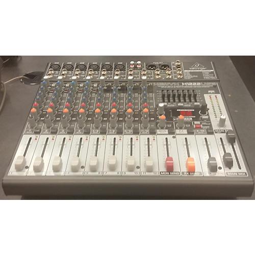 Behringer Xenyx X1222USB Unpowered Mixer