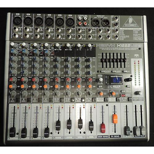 Behringer Xenyx X1222USB Unpowered Mixer-thumbnail