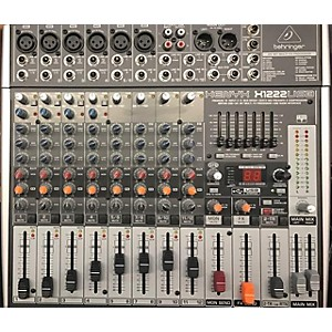 Pre-owned Behringer Xenyx X1222USB Unpowered Mixer by Behringer