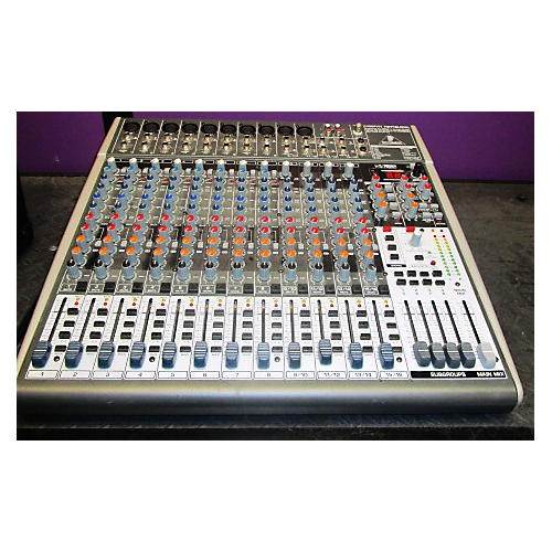 used behringer xenyx x2442usb unpowered mixer guitar center. Black Bedroom Furniture Sets. Home Design Ideas