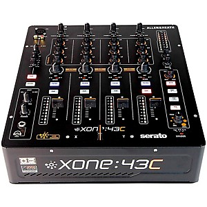 Allen and Heath Xone:43C DJ Mixer with Soundcard