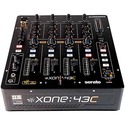Allen & Heath Xone:43C DJ Mixer with Soundcard-thumbnail