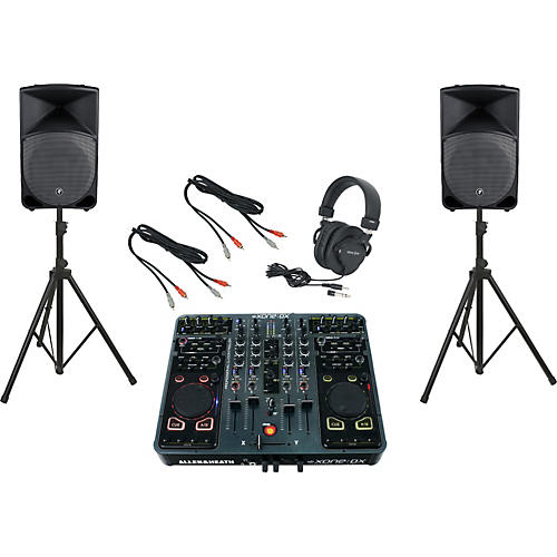 Allen & Heath Xone:DX / Mackie Thump TH-15A DJ Package-thumbnail