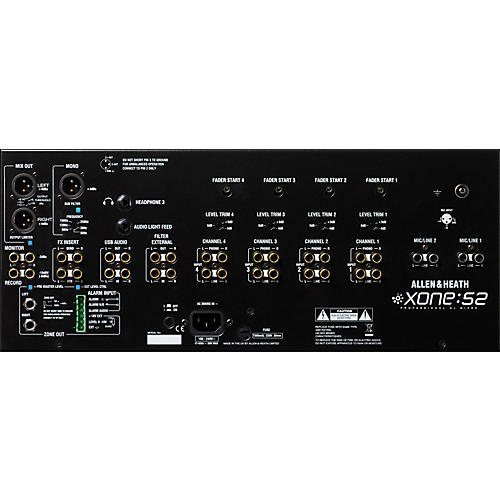Allen & Heath Xone:S2 Installation/DJ Mixer (Linear Faders)