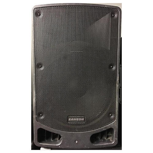 used samson xp115a powered speaker guitar center. Black Bedroom Furniture Sets. Home Design Ideas