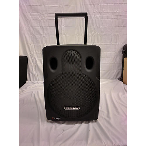 used samson xp200 powered speaker guitar center. Black Bedroom Furniture Sets. Home Design Ideas