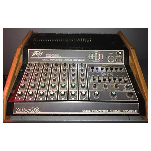 Peavey Xr700 Powered Mixer
