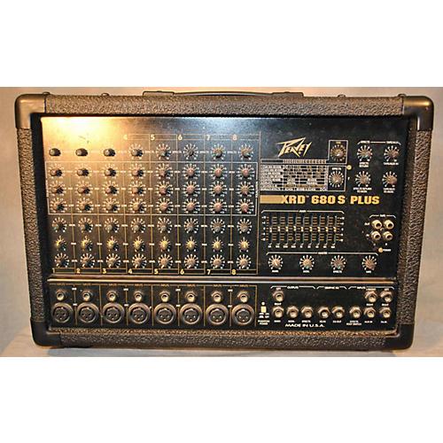 Peavey Xrd680s PLUS Powered Mixer-thumbnail