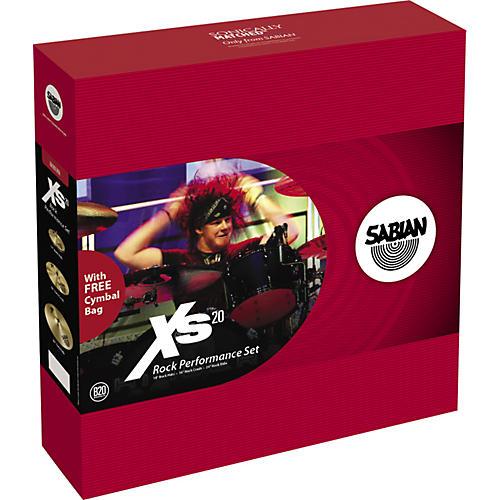 Sabian Xs20 Rock Performance Cymbal Set