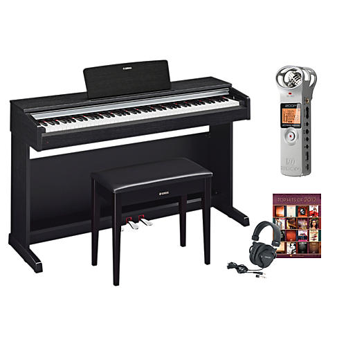 Yamaha YDP-142 Digital Piano Package 1-thumbnail