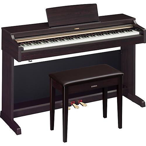 Open box yamaha ydp 162 88 key arius digital piano with for Yamaha digital piano philippines