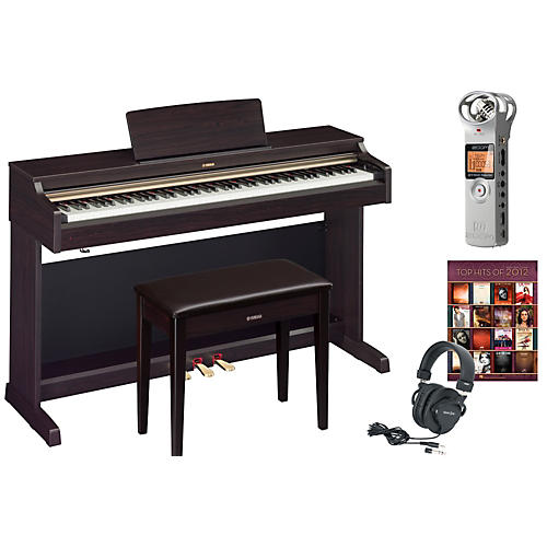 Yamaha YDP-162 Digital Piano Package 1