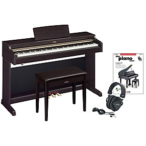 Yamaha ydp 162 digital piano package 2 guitar center for Yamaha ydp 162 digital piano