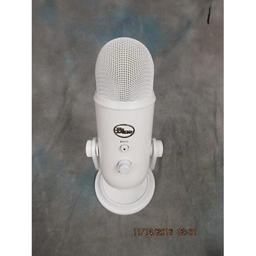 Blue YETI WHITE OUT USB Microphone