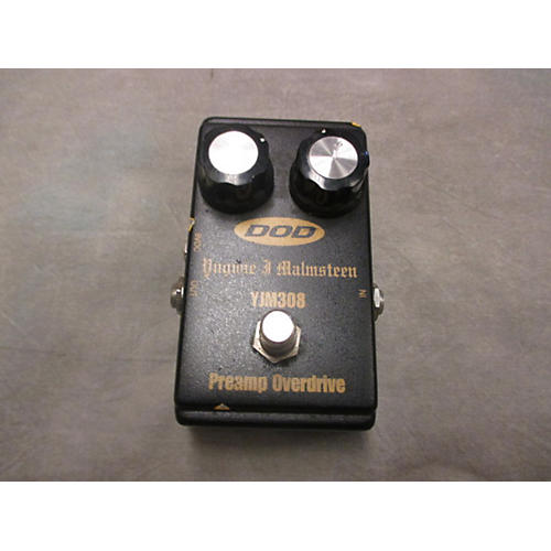 DOD YJM308 Yngwie Malmsteen Preamp Overdrive Effect Pedal