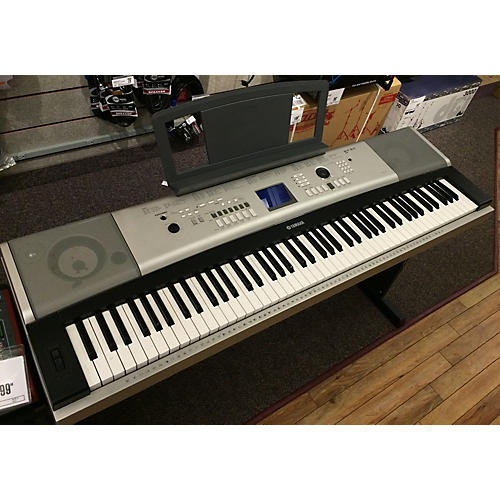 used yamaha ypg 525 digital piano guitar center. Black Bedroom Furniture Sets. Home Design Ideas