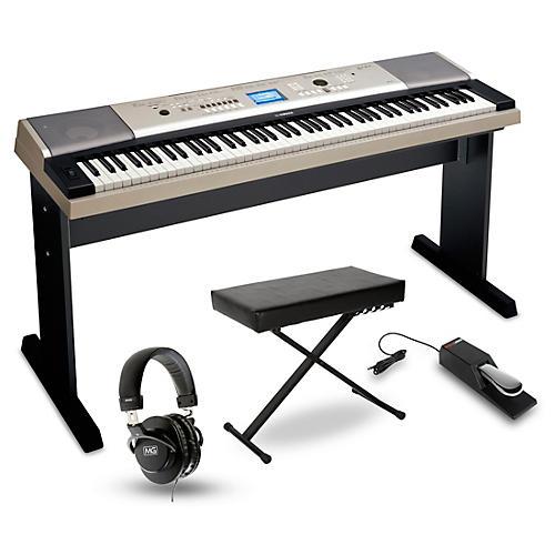 Yamaha YPG-535 88-Key Portable Grand Piano Packages-thumbnail