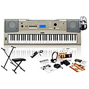 Yamaha YPG235 with Headphones, Bench, Stand and Sustain Pedal