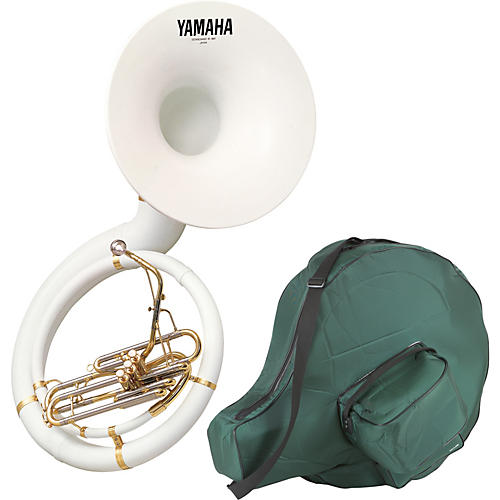 Yamaha YSH-301B Series Fiberglass BBb Sousaphone with Soft Carrying Bag-thumbnail