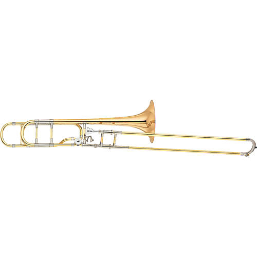 Yamaha YSL-882OR Xeno Series F Attachment Trombone Gold Brass Bell-thumbnail