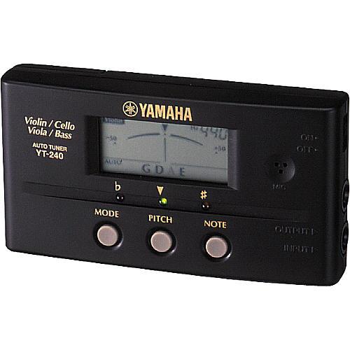 Yamaha YT-240 String Instrument Tuner