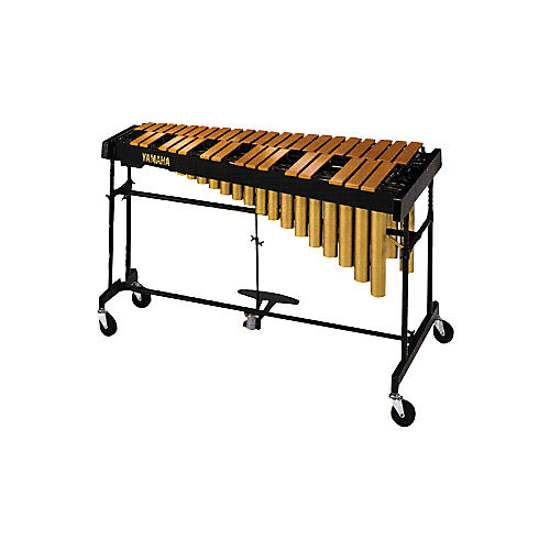 Yamaha YVRD-2700GC Gold Intermediate Vibraphone With Multi-Frame II Stand and Cover 582355-thumbnail