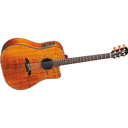 Alvarez Yairi DY1CK Koa Dreadnought Acoustic-Electric Guitar