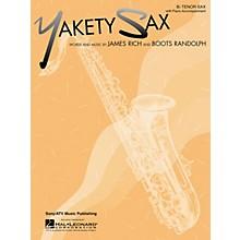 Hal Leonard Yakety Sax for B Flat Tenor Saxophone with Piano Accompaniment Songbook
