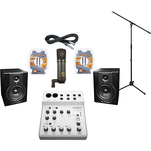 M-Audio Yamaha Audiogram 6 and M-Audio BX5a Recording Package