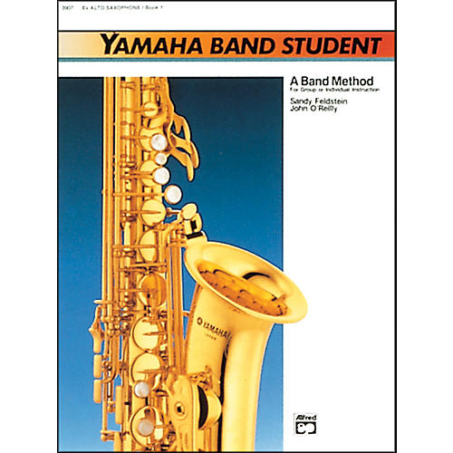 Alfred Yamaha Band Student Book 1 E-Flat Alto Saxophone-thumbnail