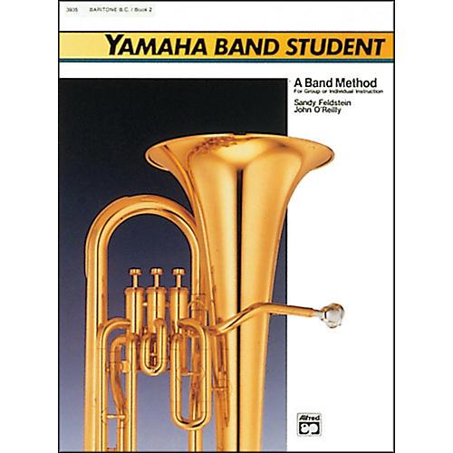 Alfred Yamaha Band Student Book 2 Baritone B.C.