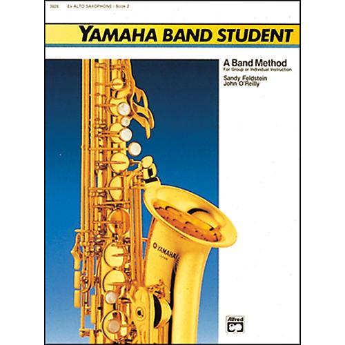 Alfred Yamaha Band Student Book 2 E-Flat Alto Saxophone