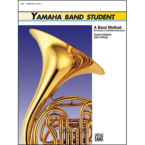 Alfred Yamaha Band Student Book 2 Horn in F-thumbnail