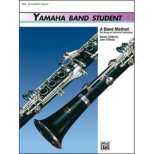 Alfred Yamaha Band Student Book 3 B-Flat Clarinet-thumbnail