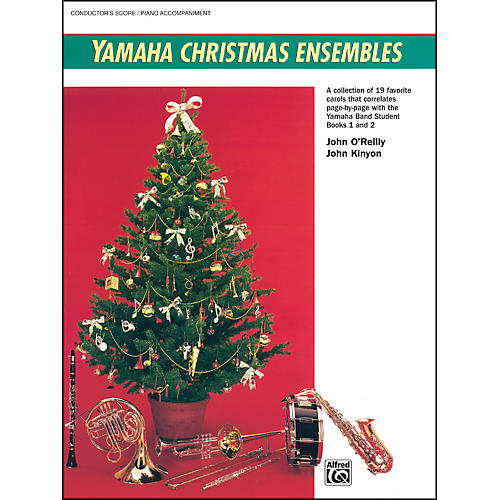 Alfred Yamaha Christmas Ensembles Piano Acc./Conductor's Score-thumbnail