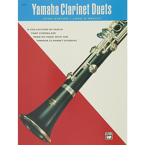 Alfred yamaha clarinet duets book guitar center for Yamaha beginner clarinet