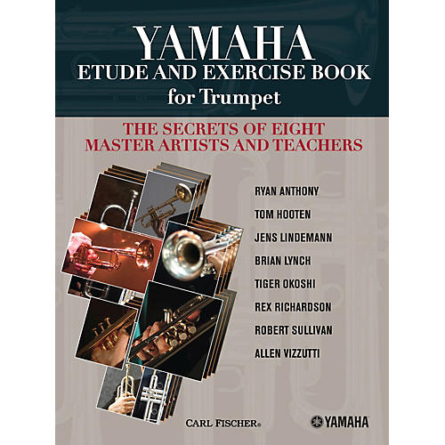 Carl Fischer Yamaha Etude and Exercise Book for Trumpet (The Secrets of Eight Master Artists and Teachers)-thumbnail
