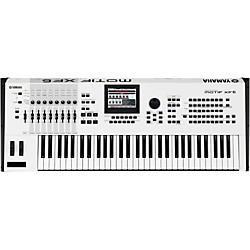 1sale yamaha motif xf6 white 61 key workstation affordable keyboards midi. Black Bedroom Furniture Sets. Home Design Ideas