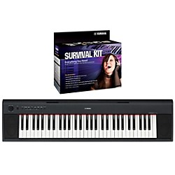 Yamaha NP11 61-Key Digital Piano with Yamaha D2 Survival Kit