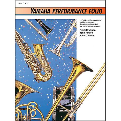 Alfred Yamaha Performance Folio Flute