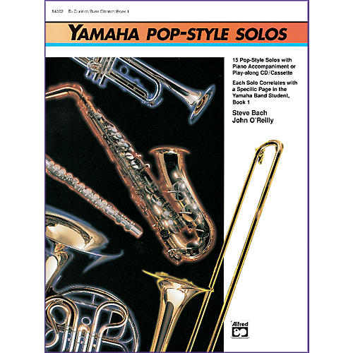 Alfred Yamaha Pop-Style Solos Trumpet/Baritone T.C. (Book & CD)