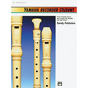 Alfred Yamaha Recorder Student Book by Alfred