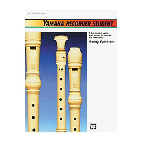 Alfred Yamaha Recorder Student Book