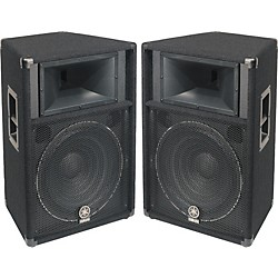 "Yamaha S115V 2-Way 15"" Club Series V Speaker Pair (KIT-600427)"