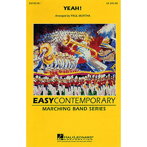 Hal Leonard Yeah! Marching Band Level 2 Arranged by Paul Murtha