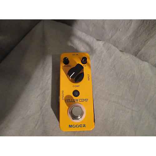 Mooer Yellow Comp Effect Pedal